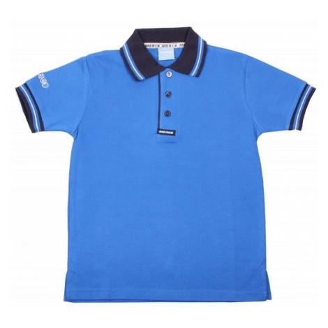PO-9 triko s límečkem barva: modrá sv.;velikost oblečení: XXS Merco