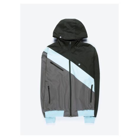 GATE Viacfarebná bunda s kapucňou
