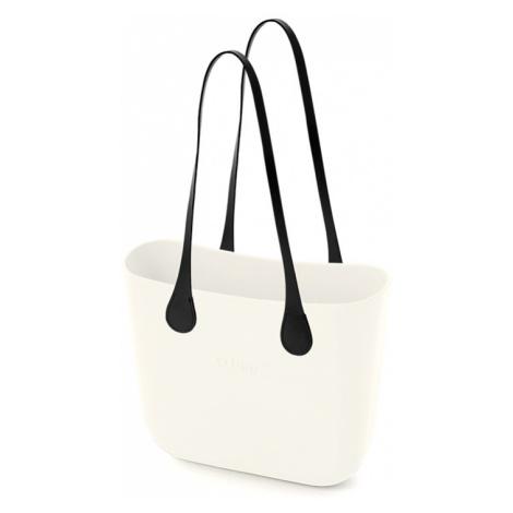 Obag milk s rúčkami koženka goccia čierna xs O bag