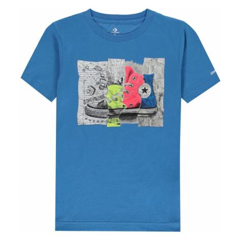 Chlapčenské tričká Converse