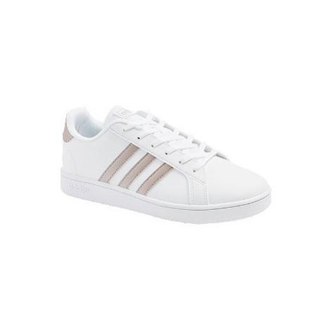 Biele tenisky Adidas Grand Court