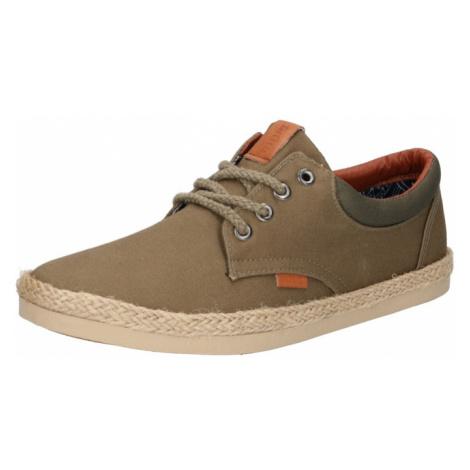 MTNG Šnurovacie topánky 'BEQUIA'  kaki / olivová / svetlohnedá