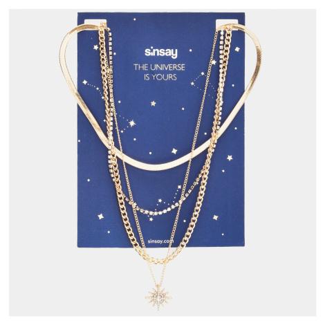 Sinsay - Náhrdelník - Zlatá