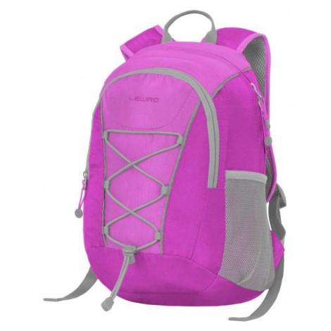 Lewro DINO 12 fialová - Viacúčelový detský batoh