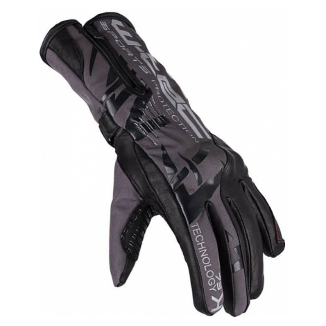 Moto rukavice W-TEC Kaltman Farba čierno-šedá