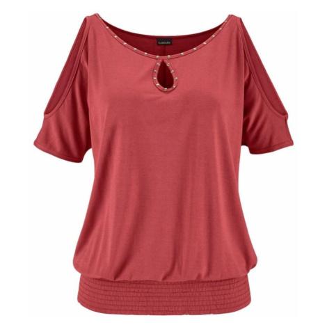 LASCANA Tričko  červená