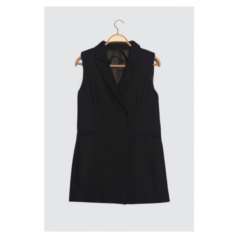 Trendyol Black Belt Vest