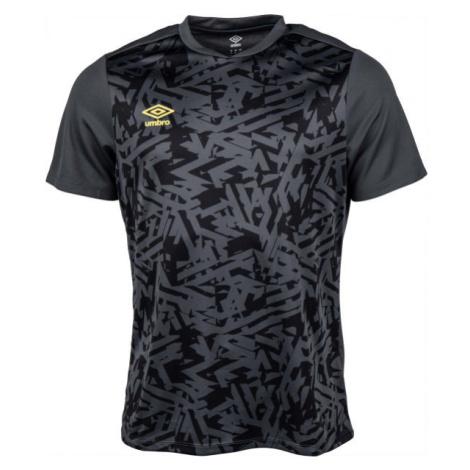 Umbro SHATTERED JERSEY tmavo šedá - Pánske športové tričko