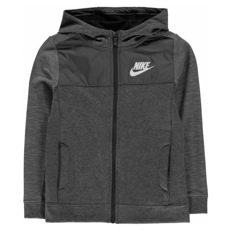 Nike Advance Full Zip Hoodie Junior Boys