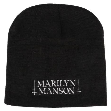 čiapka Marilyn Manson - Logo - RAZAMATAZ - BH121