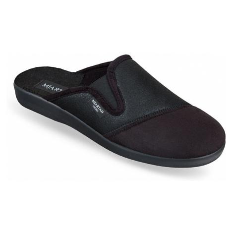 Pánske čierne papuče MJARTAN PALO