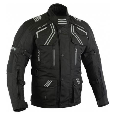 Pánska touringová moto bunda BOS Temper Farba čierna