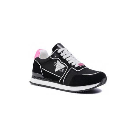 Guess Sneakersy Agos FL7AGO SUE12 Čierna