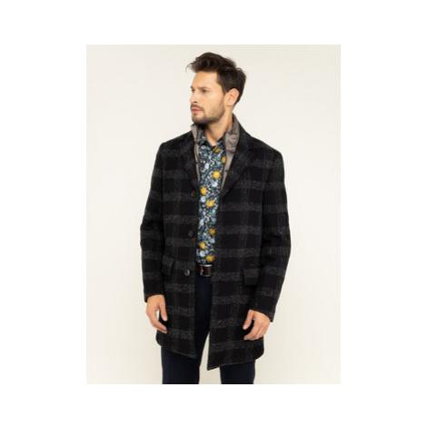 Pierre Cardin Prechodný kabát 69520/4534/2000 Čierna Regular Fit
