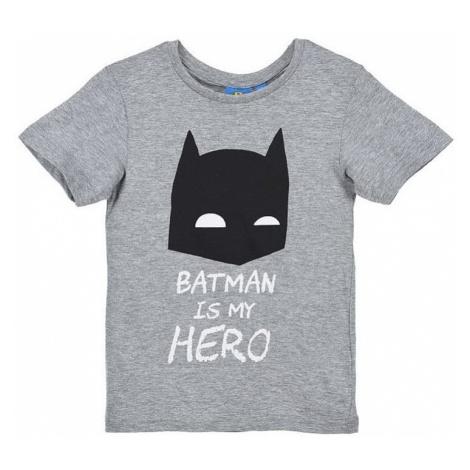 Batman sivé tričko pre chlapcov