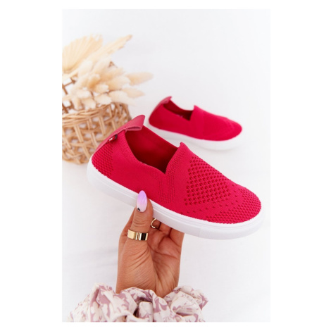 Children's Slip-On Sneakers Big Star HH374102 Fuchsia