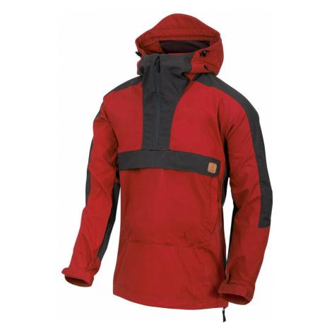 Bunda Woodsman Anorak® Helikon-Tex® - dvojfarebná Crimson Sky / Ash Grey