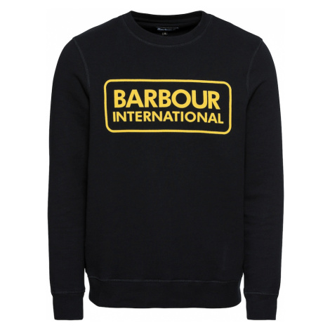 Barbour International Mikina  čierna / žltá