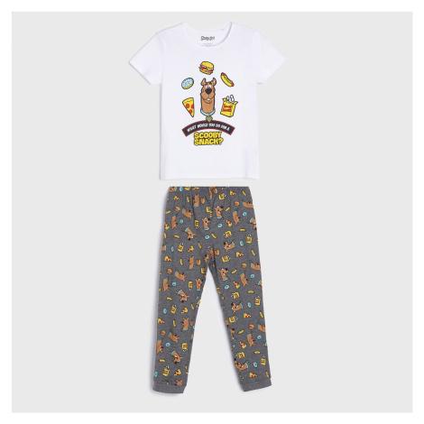 Sinsay - Dvojdielne pyžamo Scooby-Doo! - Šedá