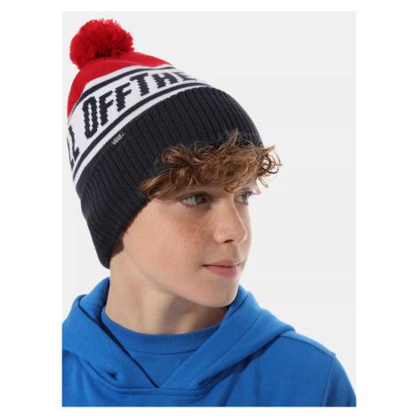 Modrá chlapčenskú čiapky VANS