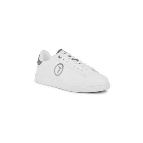 Trussardi Jeans Sneakersy 79A00565 Biela