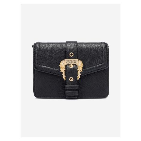 Kabelka Versace Jeans Couture Čierna