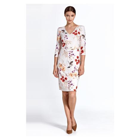 Colett Woman's Dress Cs28 Pattern Ecru