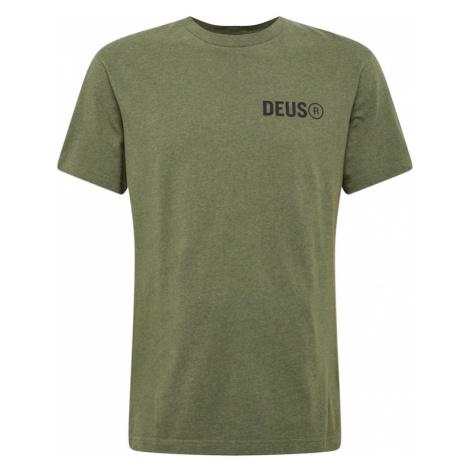 DEUS EX MACHINA Tričko 'Cogs'  zelená / čierna