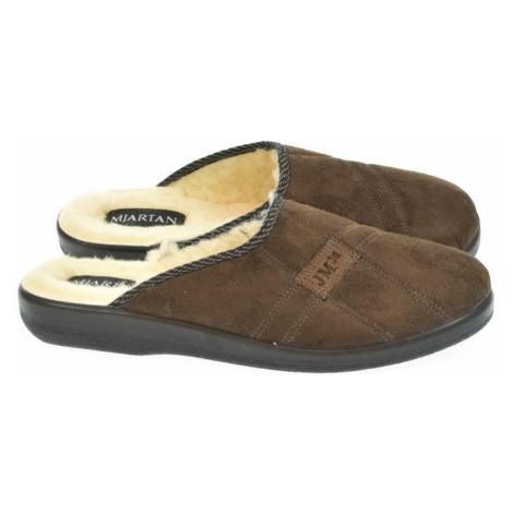 Pánske hnedé papuče MJRATAN SERGEJ 2 Mjartan