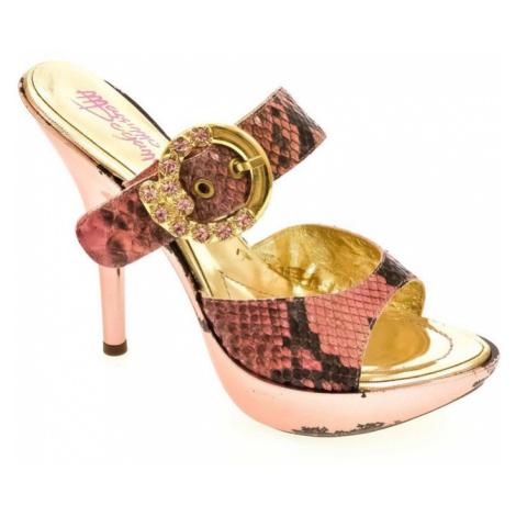 Dámske ružové šľapky MINE John-C