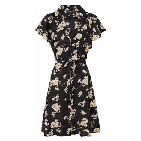 Mela London Košeľové šaty  čierna