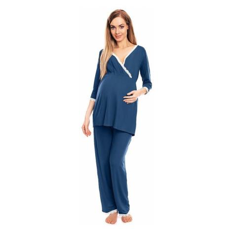 Materské pyžamo Agata modré PeeKaBoo