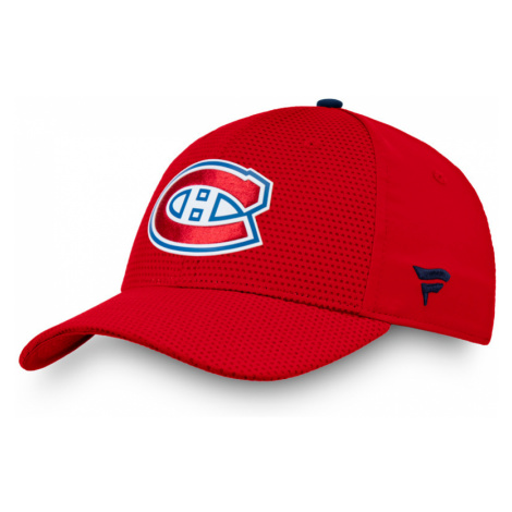 BLACK FRIDAY - Šiltovka Fanatics Authentic Pro Rinkside Stretch NHL Montreal Canadiens
