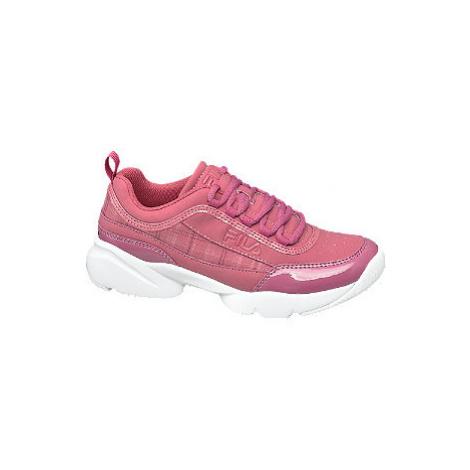 Ružové chunky tenisky Fila