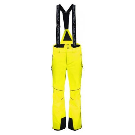 Fischer HANS KNAUSS M PANTS žltá - Pánske lyžiarske nohavice
