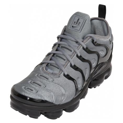 Nike Sportswear Nízke tenisky 'Air VaporMax Plus'  čierna / sivá