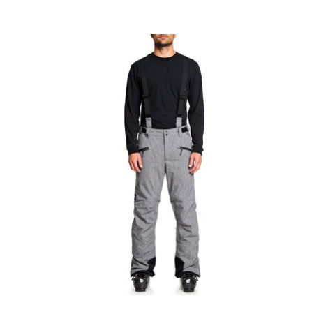 Quiksilver Snowboardové nohavice Boundry Plus EQYTP03114 Sivá Modern Fit