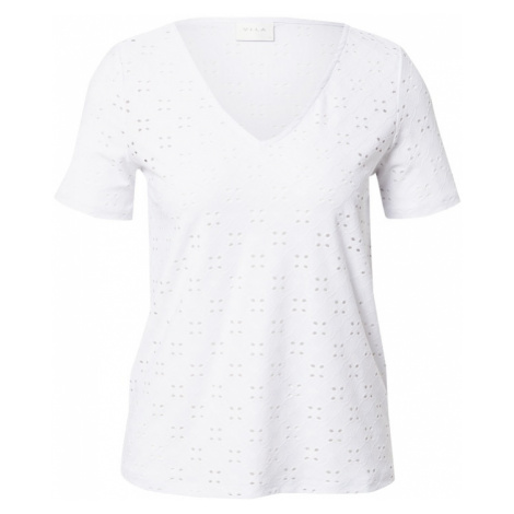 VILA Tričko 'TRESSY'  biela