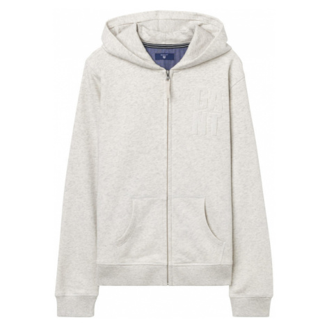 MIKINA GANT O. COLLEGIATE FULL ZIP SWEAT HOODIE