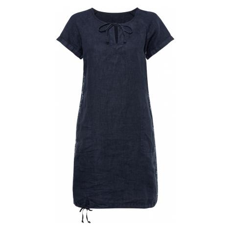 Soccx Košeľové šaty  námornícka modrá / svetlomodrá
