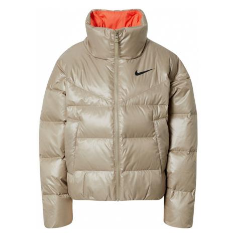 Nike Sportswear Zimná bunda  béžová