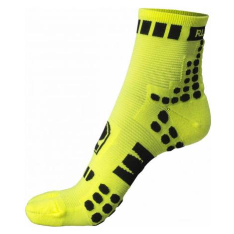 Runto RT-DOTS žltá - Športové ponožky