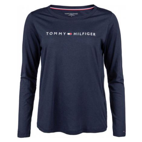 Tommy Hilfiger CN TEE LS LOGO - Dámske tričko s dlhým rukávom