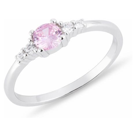 OLIVIE Detský strieborný prsteň RUŽENKA 4727