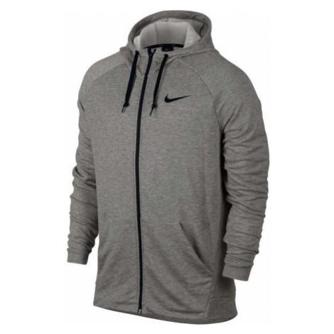 Nike DRY HOODIE FZ FLEECE šedá - Pánska mikina