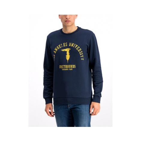 Trussardi Jeans Mikina 52F00092 Tmavomodrá Regular Fit