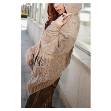 Dámsky sveter - hnedý