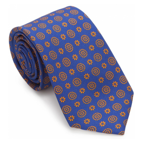 Modro-oranžová kravata Wittchen