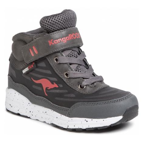 Sneakersy KANGAROOS - Moba Rtx 18087 000 2018  Steel Grey/K Red