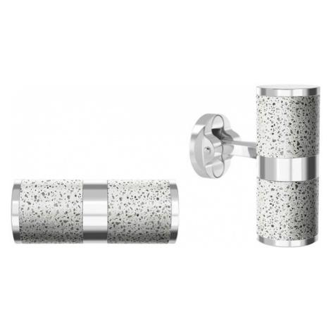 Gravelli Manžetové gombíky z ocele a betónu Unity GJCMSLG109UN